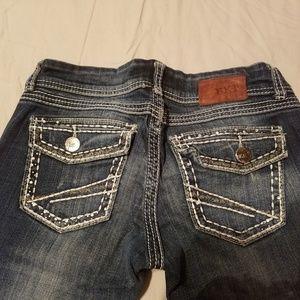 BKE slim bootcut jeans